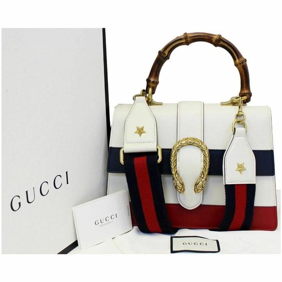 331806a65 Gucci Bags | Dionysus Medium Leather Top Handle Bag White | Poshmark